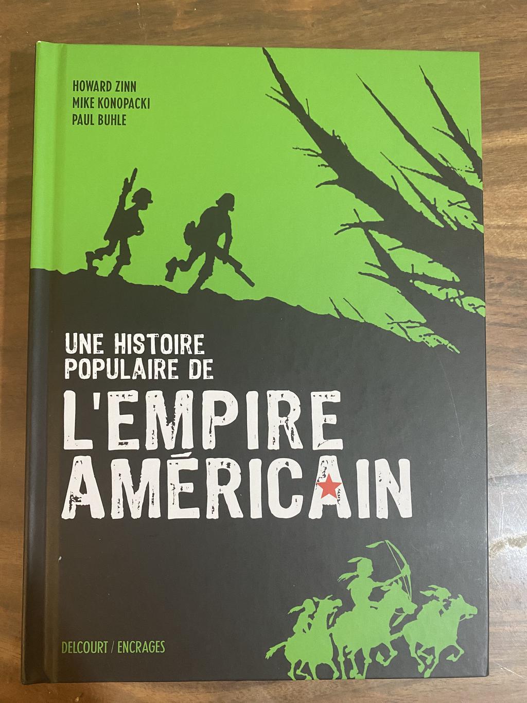 """image from """"Une Histoire Populaire de l'Empire Américain"""" de Howard Zin, Mike Konopacki et Paul Buhle"""