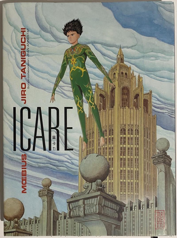 image from «Icare» de Mœbius et Jiro Taniguchi
