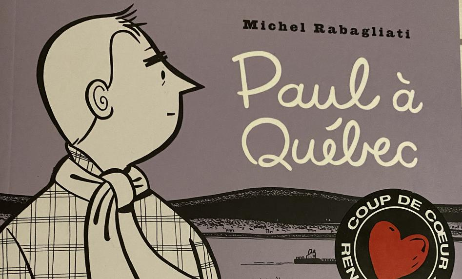 image from «Paul à Québec» de Michel Rabagliati