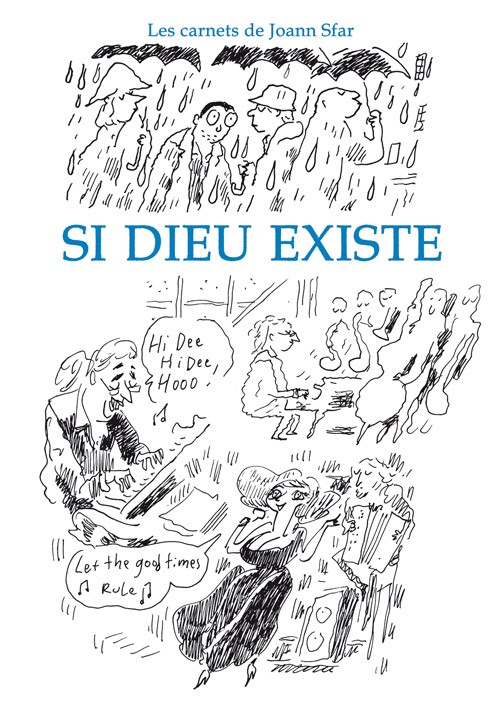 "image from ""Si Dieu existe"" de Joann Sfar"