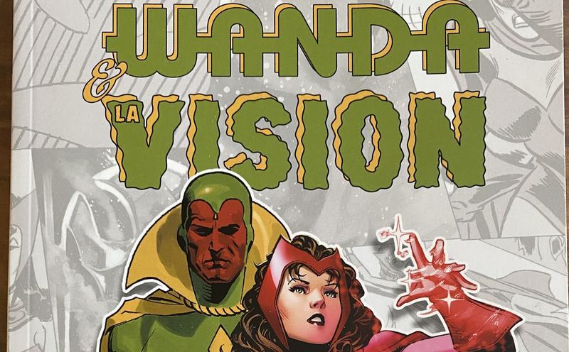 image from Wanda Et La Vision: 4 histoires courtes chez Panini