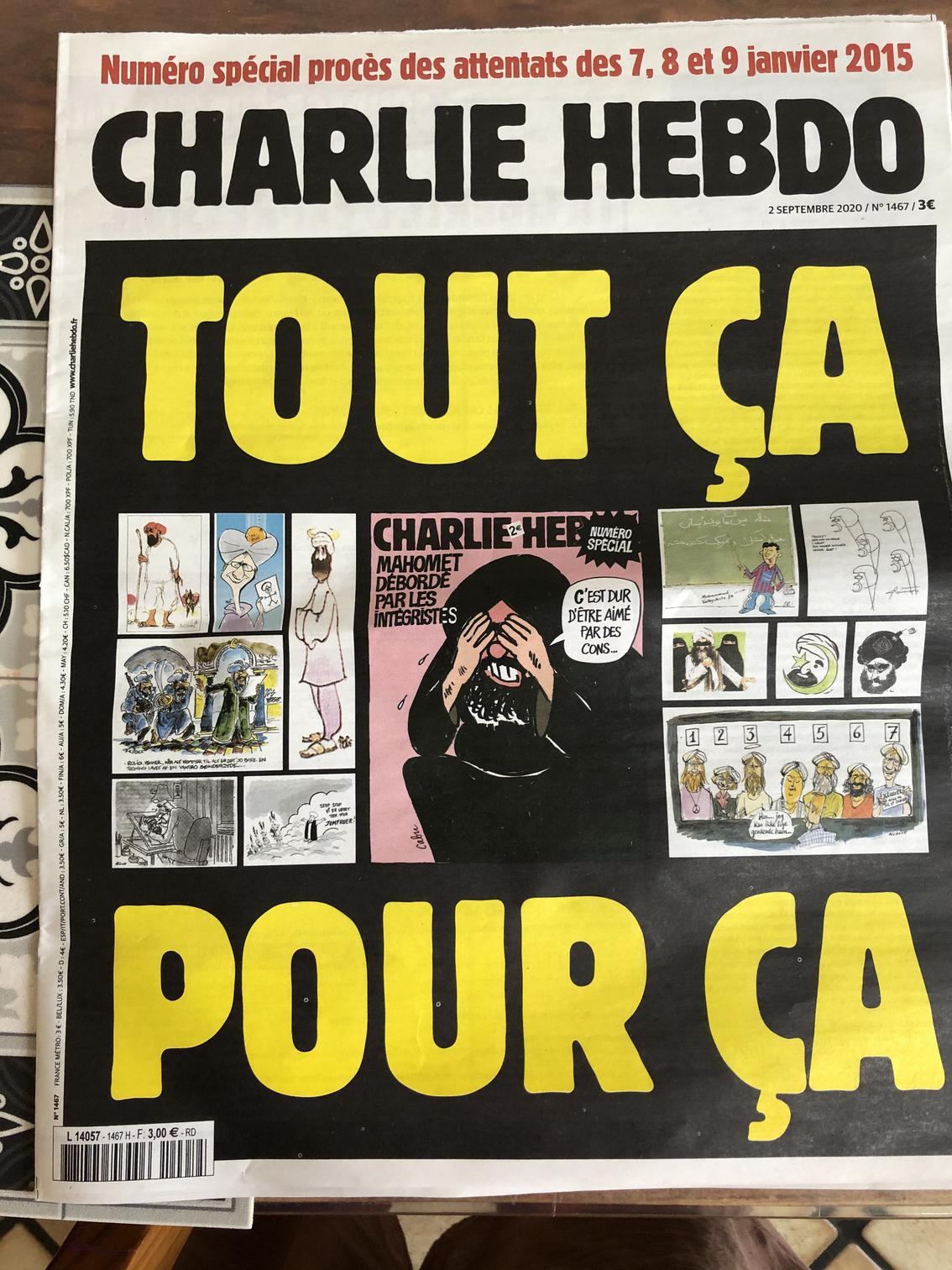 image from Charlie Hebdo: 2015-2020